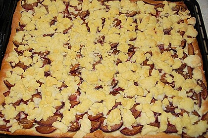 Pflaumenkuchen mit Streuseln 61