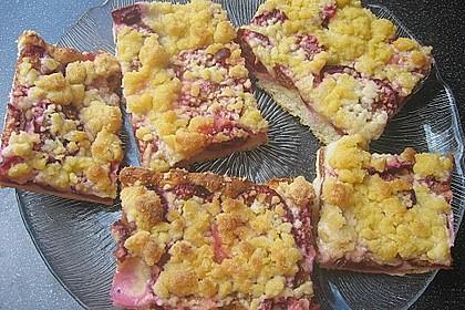 Pflaumenkuchen mit Streuseln 3