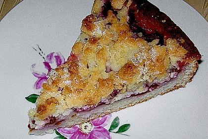 Pflaumenkuchen mit Streuseln 4