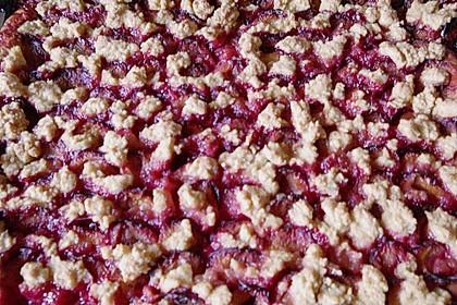 Pflaumenkuchen mit Streuseln 31