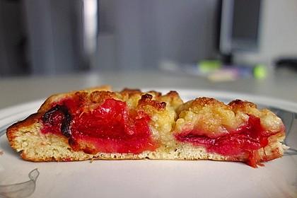 Pflaumenkuchen mit Streuseln 5