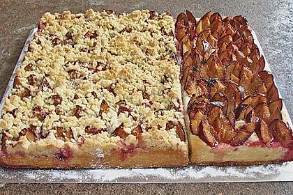 Pflaumenkuchen mit Streuseln 15