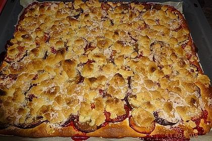 Pflaumenkuchen mit Streuseln 8