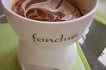 Schoko - Fondue 5