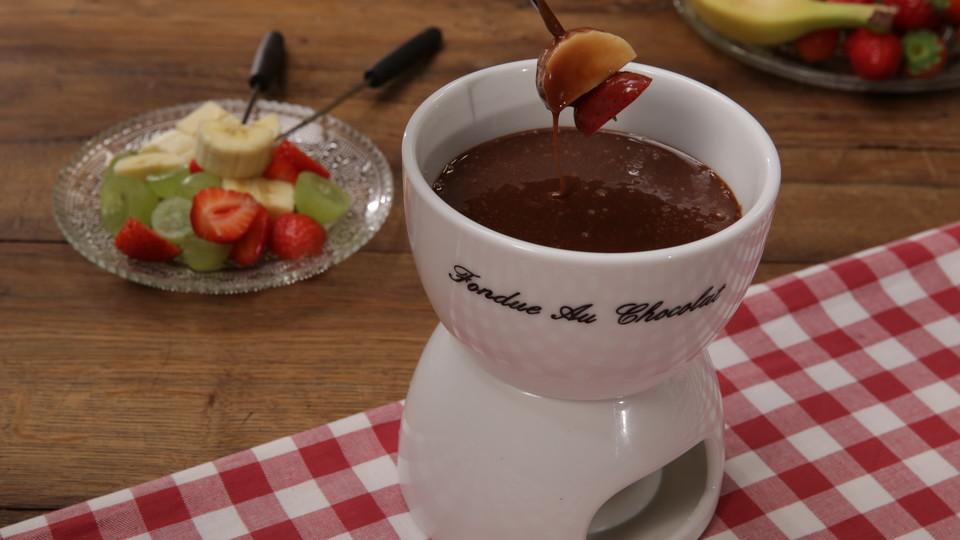 schoko fondue rezept mit bild von norbertnewyork. Black Bedroom Furniture Sets. Home Design Ideas