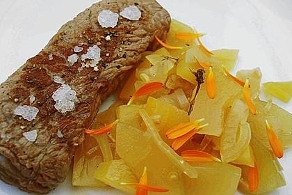 Eingelegte Curry - Zucchini 9