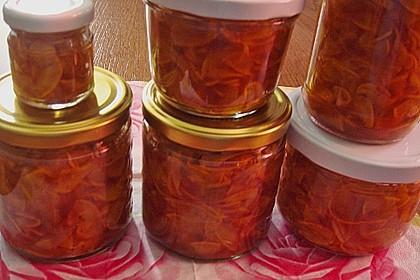 Eingelegte Curry - Zucchini 36