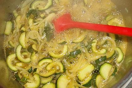 Eingelegte Curry - Zucchini 48