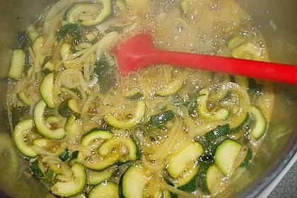 Eingelegte Curry - Zucchini 45