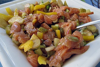 Lachs - Salat 0