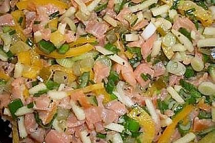 Lachs - Salat 2