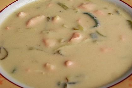 Feine Kartoffelsuppe mit Lachs 23