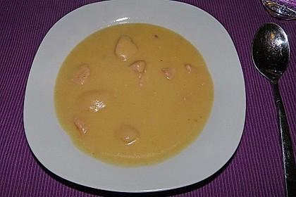 Feine Kartoffelsuppe mit Lachs 20
