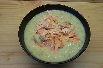 Feine Kartoffelsuppe mit Lachs 21
