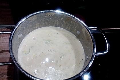 Feine Kartoffelsuppe mit Lachs 27