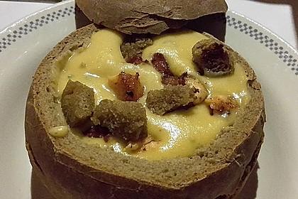 Feine Kartoffelsuppe mit Lachs 10