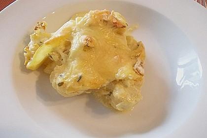 Blumenkohl - Kartoffel Gratin 3