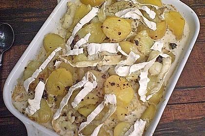 Blumenkohl - Kartoffel Gratin 2