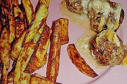 Gefüllte Frikadellen mit Camembert 4