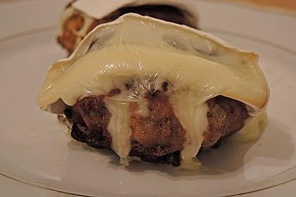 Gefüllte Frikadellen mit Camembert 1