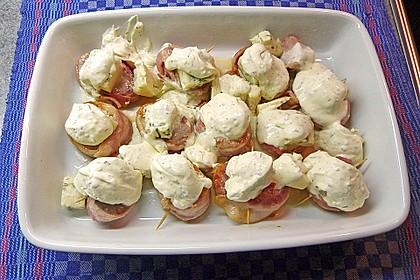 Schweinefilet in Gorgonzolasoße 5