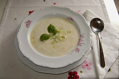 Käse - Lauch Suppe 9