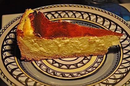 Quark - Kuchen mit Pudding