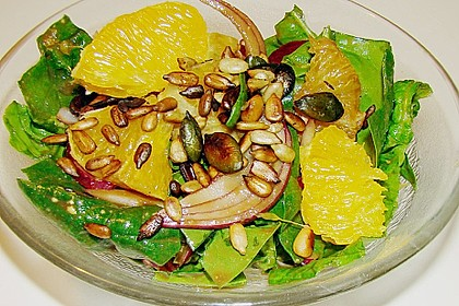 Blattsalat mit Orangen 0