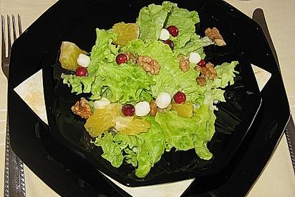 Blattsalat mit Orangen 4