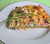 Eier - Schinken Toast, überbacken