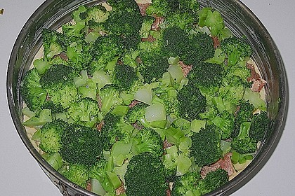 Brokkoli - Lachs Torte 23