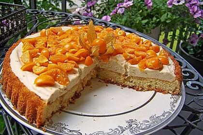 Physalis - Sahne Kuchen