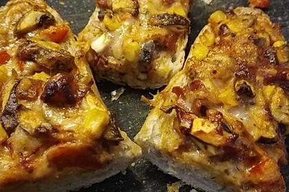 Pizzamasse für Seelen oder Baguette