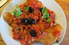Putenschnitzel à la Pizzaiola