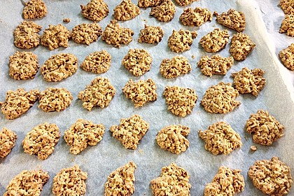Mandel-Haferflocken Kekse