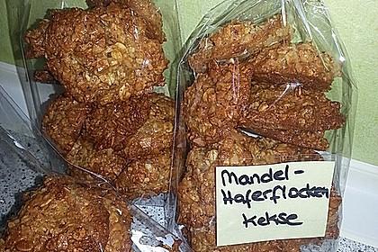 Mandel-Haferflocken Kekse 1