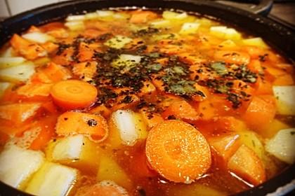 Kartoffel-Hackfleisch-Topf mit Schmand und Möhren 13