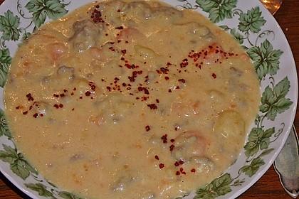 Kartoffel-Hackfleisch-Topf mit Schmand und Möhren 16