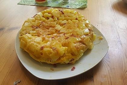 Traditionelle spanische Tortilla 32