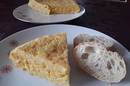 Traditionelle spanische Tortilla 6