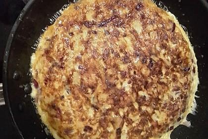 Traditionelle spanische Tortilla 35