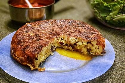 Traditionelle spanische Tortilla 14