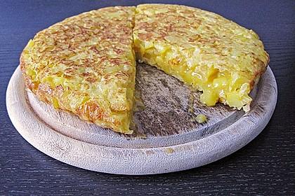 Traditionelle spanische Tortilla 3