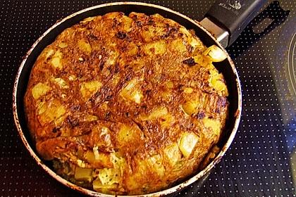 Traditionelle spanische Tortilla 25