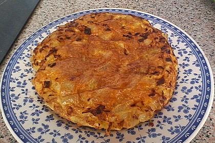 Traditionelle spanische Tortilla 38