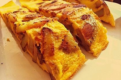 Traditionelle spanische Tortilla 11