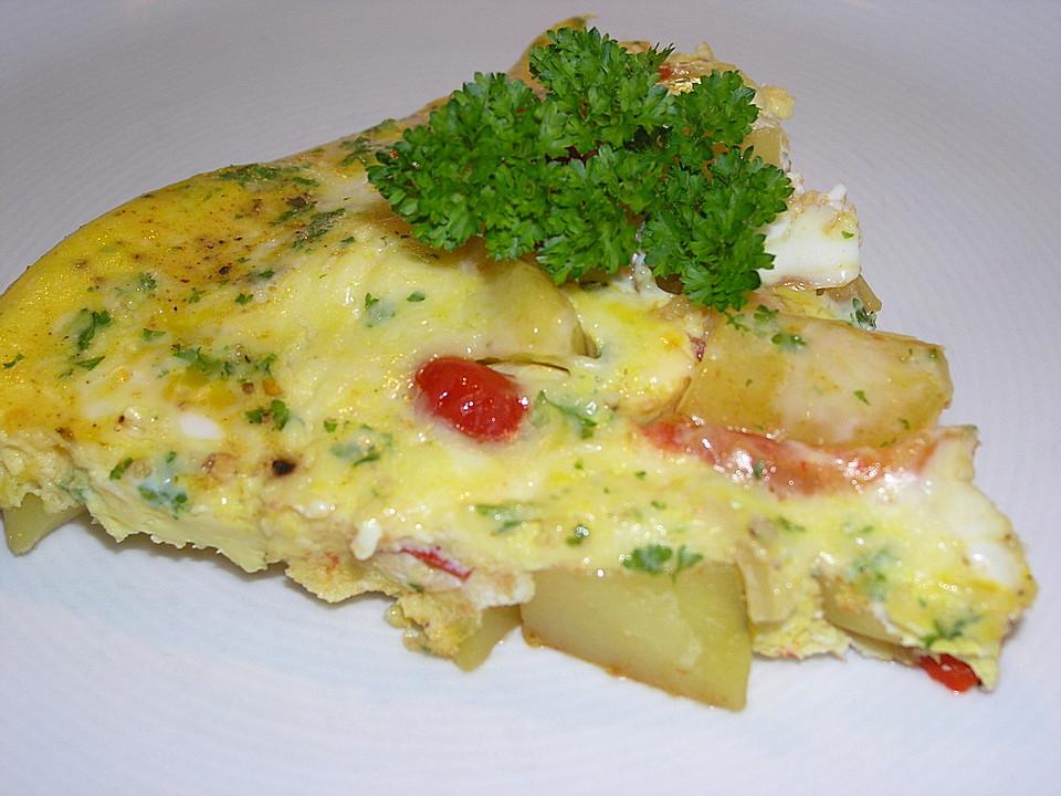 Traditionelle spanische Tortilla 18