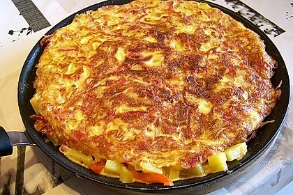 Traditionelle spanische Tortilla 4