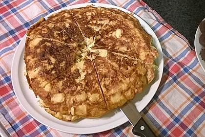 Traditionelle spanische Tortilla 15