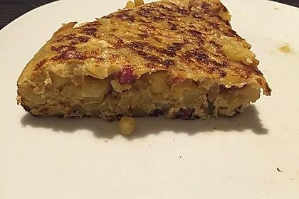 Traditionelle spanische Tortilla 23